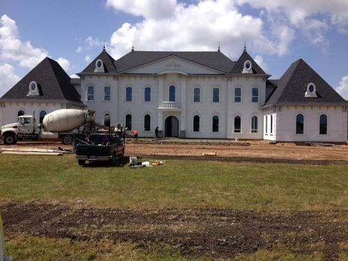 New home construction in Houston TX :Foundation, painting, sheetrock work, electrical work