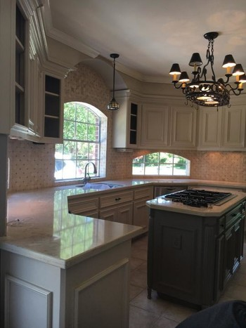 Kitchen Remodeling Painting and Glaze