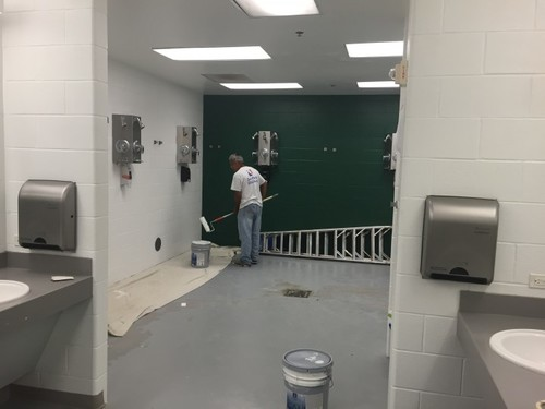 Locker Room Painting Houston TX
