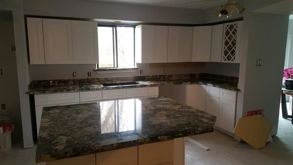 Kitchen Painting & Granite Installation in Richmond, TX (1)