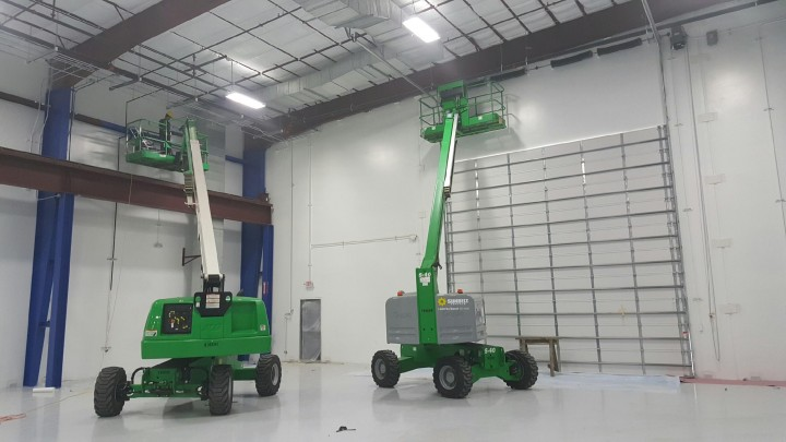 Epoxy painting & Metal crane painting Waller, TX