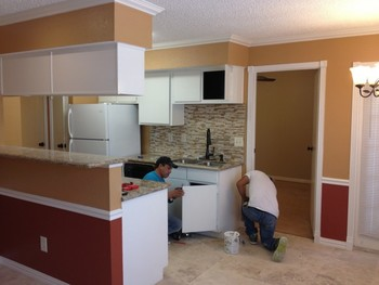 Wall Painting & Texture, Cabinet Painting and Restoration, Flooring and Counter Tops, Medical Center TX