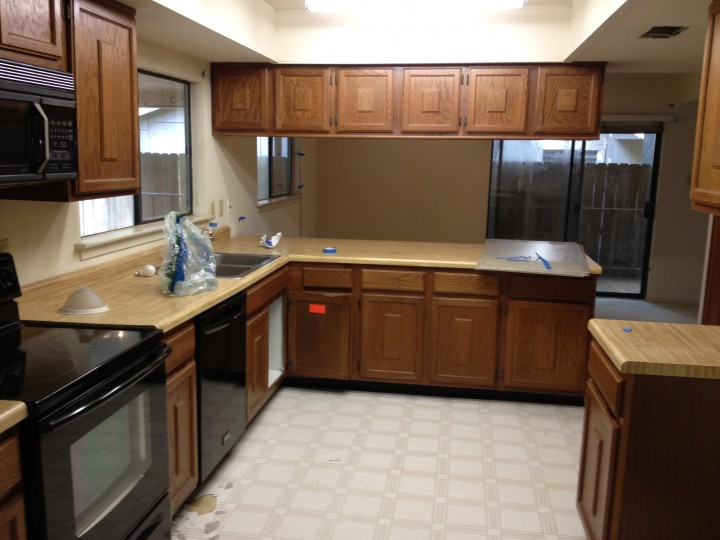 Full Kitchen Remodeling, The Woodlands TX