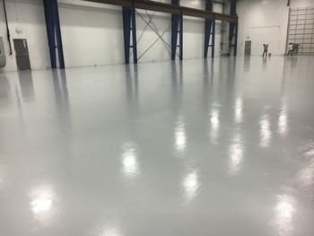 Indoor warehouse painting Houston TX