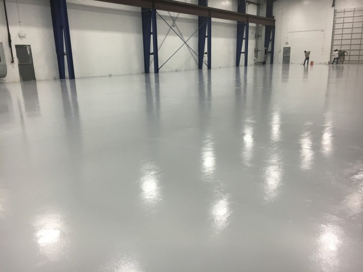 Commercial Floor Painting